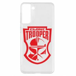 Чохол для Samsung S21+ Clone Trooper