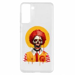 Чохол для Samsung S21+ Clown McDonald's skeleton