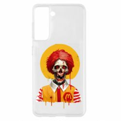 Чохол для Samsung S21 Clown McDonald's skeleton