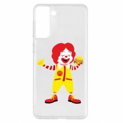Чохол для Samsung S21+ Clown McDonald's