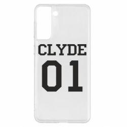 Чехол для Samsung S21+ Clyde 01