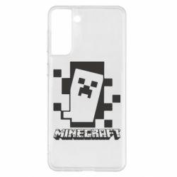 Чохол для Samsung S21+ Color Minecraft