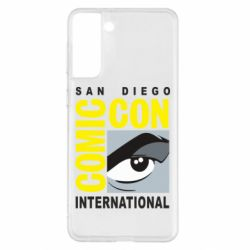 Чохол для Samsung S21+ Comic-Con International: San Diego logo