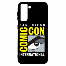 Чохол для Samsung S21 Comic-Con International: San Diego logo