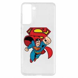 Чохол для Samsung S21+ Comics Superman