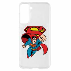 Чохол для Samsung S21 Comics Superman