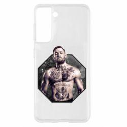 Чехол для Samsung S21 Conor McGregor