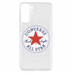 Чохол для Samsung S21+ Converse