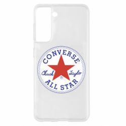 Чохол для Samsung S21 Converse