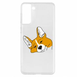 Чохол для Samsung S21+ Corgi is dozing