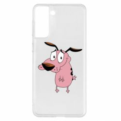 Чохол для Samsung S21+ Courage - a cowardly dog