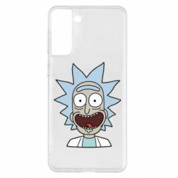 Чехол для Samsung S21+ Crazy Rick