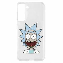 Чехол для Samsung S21 Crazy Rick