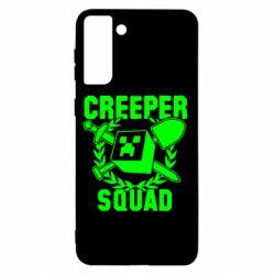 Чохол для Samsung S21+ Creeper Squad