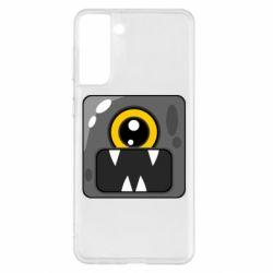Чохол для Samsung S21+ Cute black boss