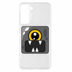 Чохол для Samsung S21 Cute black boss