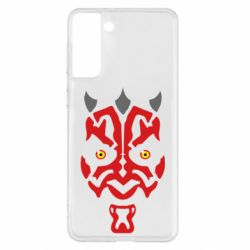 Чохол для Samsung S21+ Darth Maul Face