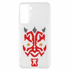 Чохол для Samsung S21 Darth Maul Face