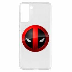 Чехол для Samsung S21+ Deadpool Logo