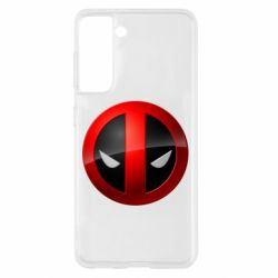 Чехол для Samsung S21 Deadpool Logo