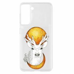Чохол для Samsung S21 Deer and moon