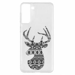 Чохол для Samsung S21+ Deer from the patterns