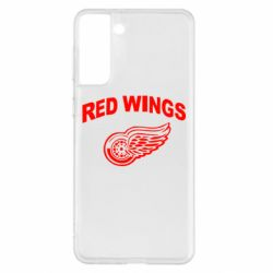 Чохол для Samsung S21+ Detroit Red Wings