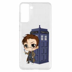Чохол для Samsung S21+ Doctor who is 10 season2