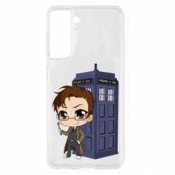 Чохол для Samsung S21 Doctor who is 10 season2