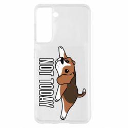 Чохол для Samsung S21 Dog not today