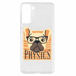 Чехол для Samsung S21+ Dog Physicist