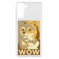 Чохол для Samsung S21+ Doge wow meme