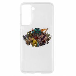 "Чехол для Samsung S21 Dota 2 ""Everybody here"""