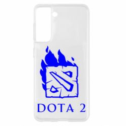 Чохол для Samsung S21 Dota 2 Fire