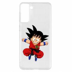 Чохол для Samsung S21+ Dragon ball Son Goku