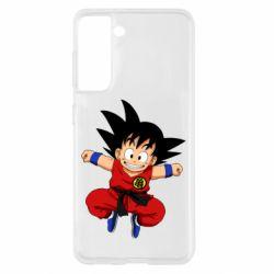 Чохол для Samsung S21 Dragon ball Son Goku