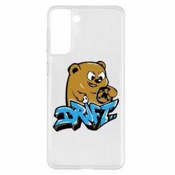 Чехол для Samsung S21+ Drift Bear