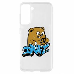 Чехол для Samsung S21 Drift Bear