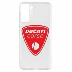 Чохол для Samsung S21+ Ducati Corse