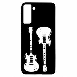 Чохол для Samsung S21+ Дві гітари