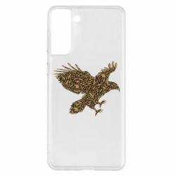 Чехол для Samsung S21+ Eagle feather