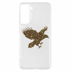 Чехол для Samsung S21 Eagle feather