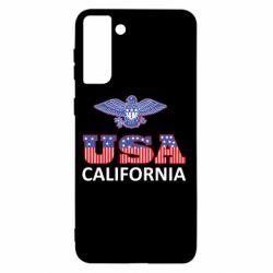 Чехол для Samsung S21+ Eagle USA