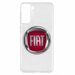 Чохол для Samsung S21+ Emblem Fiat