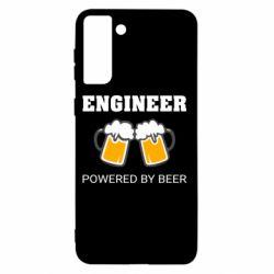 Чохол для Samsung S21+ Engineer Powered By Beer