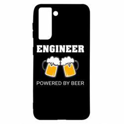 Чохол для Samsung S21 Engineer Powered By Beer