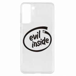 Чохол для Samsung S21+ Evil Inside