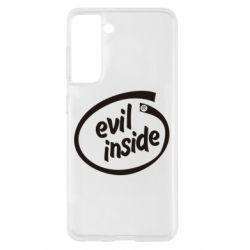 Чохол для Samsung S21 Evil Inside