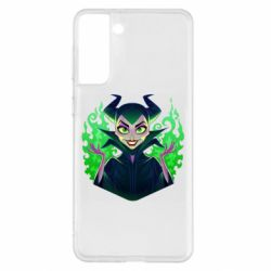 Чехол для Samsung S21+ Evil Maleficent