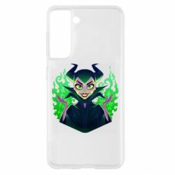 Чехол для Samsung S21 Evil Maleficent